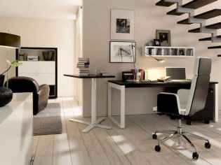 90 stunning home office design ideas and remodel make your work comfortable (49)