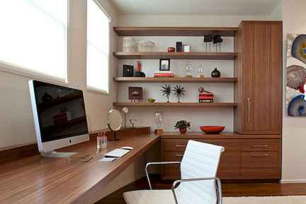 90 stunning home office design ideas and remodel make your work comfortable (75)