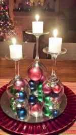 35 beautiful christmas decorations table centerpiece (12)