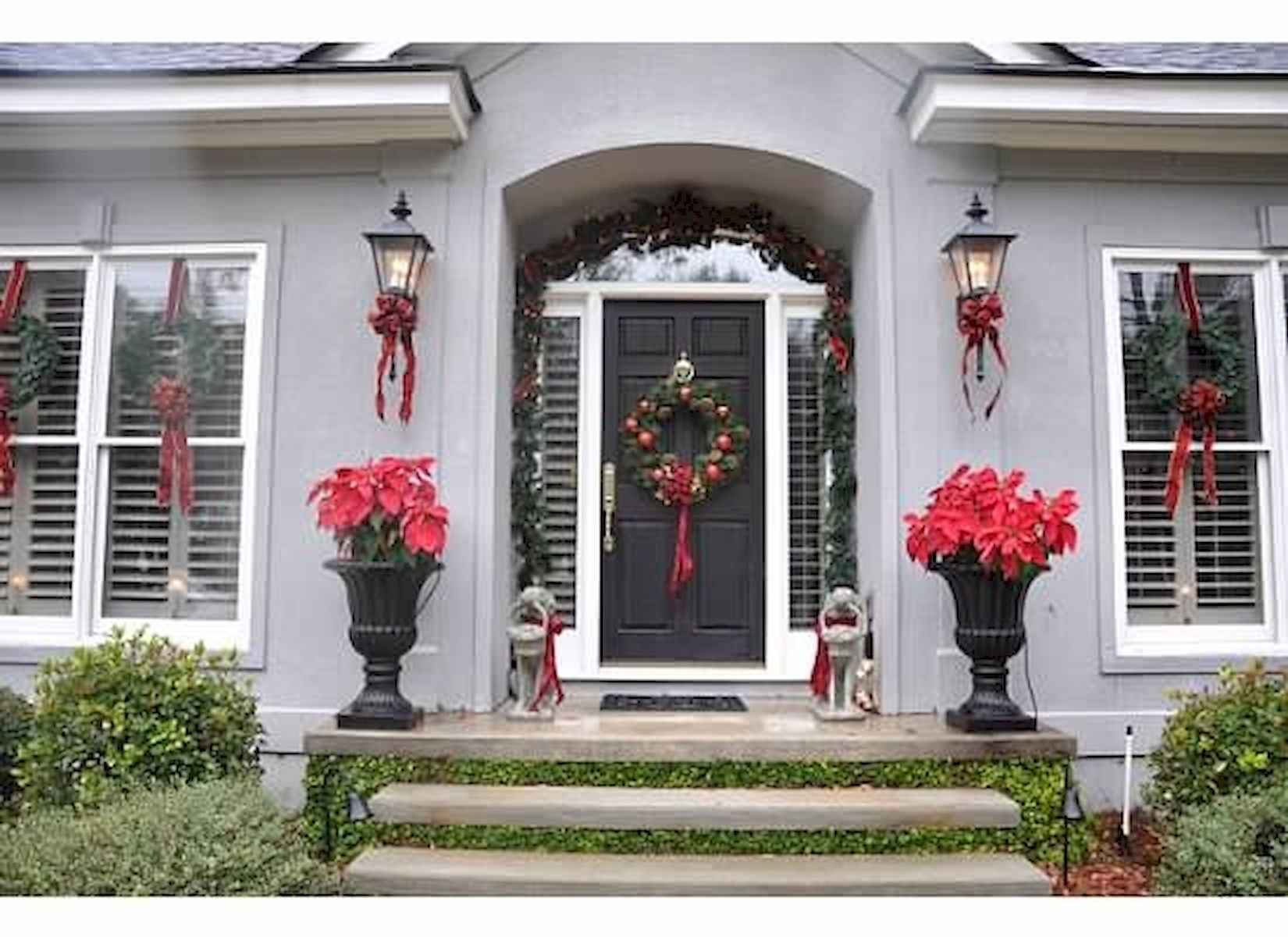 40 amazing outdoor christmas decorations ideas (10)
