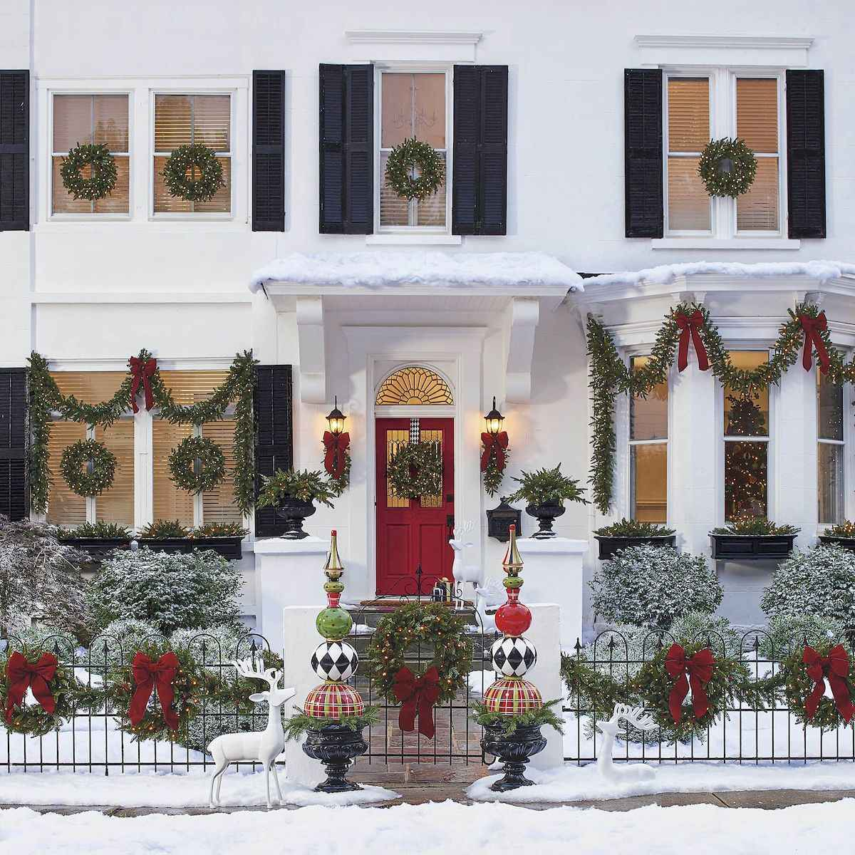 40 amazing outdoor christmas decorations ideas (30)