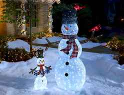 40 amazing outdoor christmas decorations ideas (34)