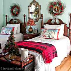 40 awesome bedroom christmas decorations ideas (18)