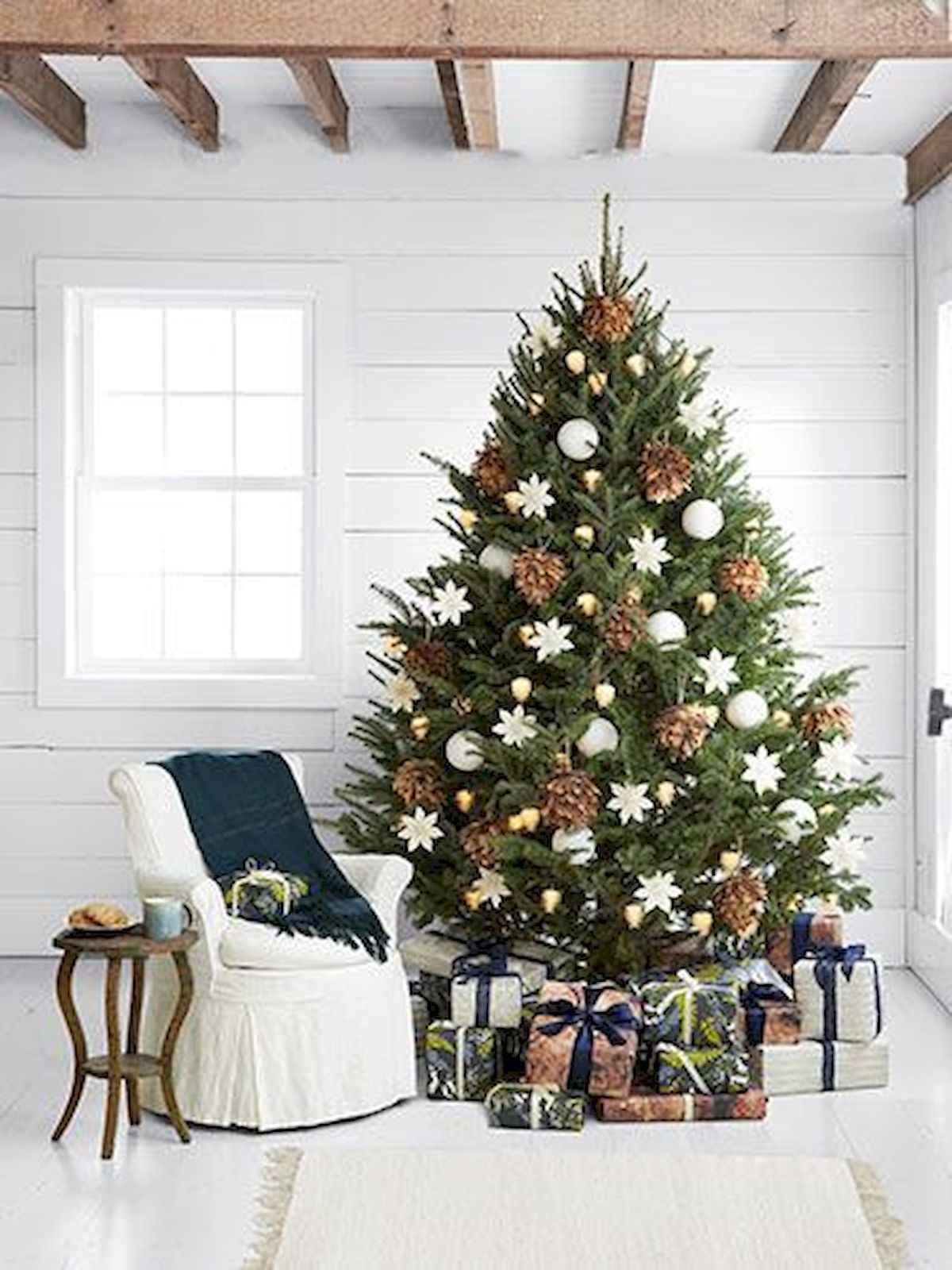 40 elegant christmas tree decorations ideas (1)