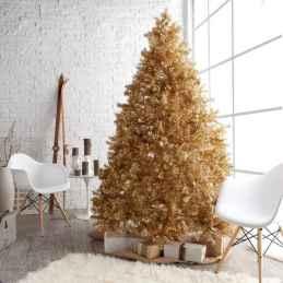 40 elegant christmas tree decorations ideas (32)