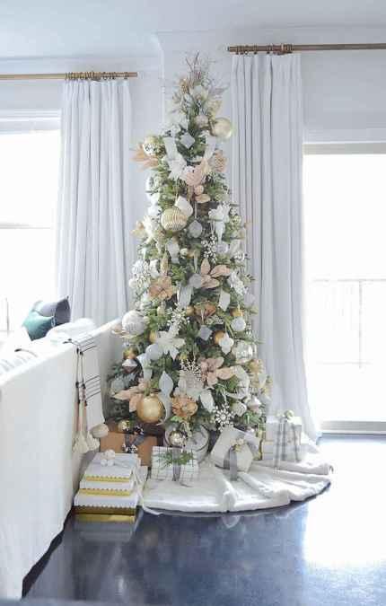 40 elegant christmas tree decorations ideas (37)