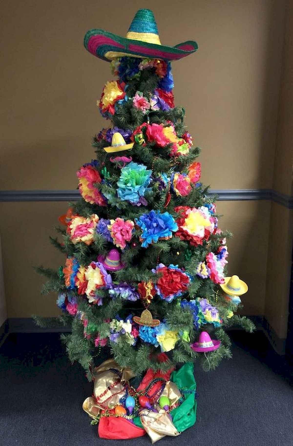 40 unique christmas tree ideas decorations (4)
