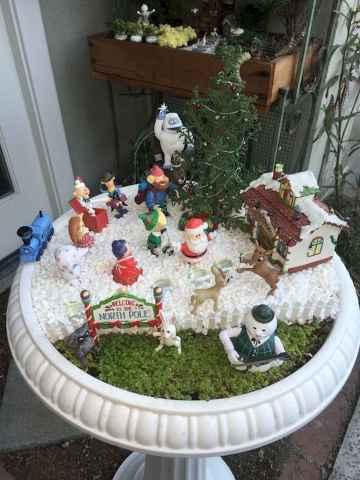 45 beautiful christmas fairy garden ideas decorations (11)