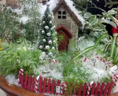 45 beautiful christmas fairy garden ideas decorations (21)