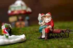 45 beautiful christmas fairy garden ideas decorations (33)