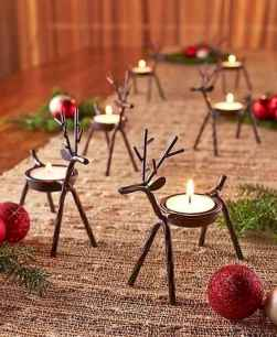 50 stunning christmas table dining rooms ideas decorations (14)