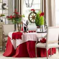 50 stunning christmas table dining rooms ideas decorations (2)