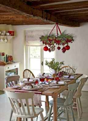 50 stunning christmas table dining rooms ideas decorations (36)