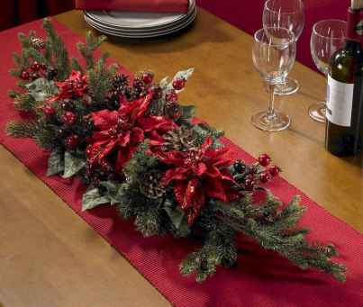 50 stunning christmas table dining rooms ideas decorations (46)