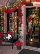 50 stunning front porch christmas lights decorations ideas (9)