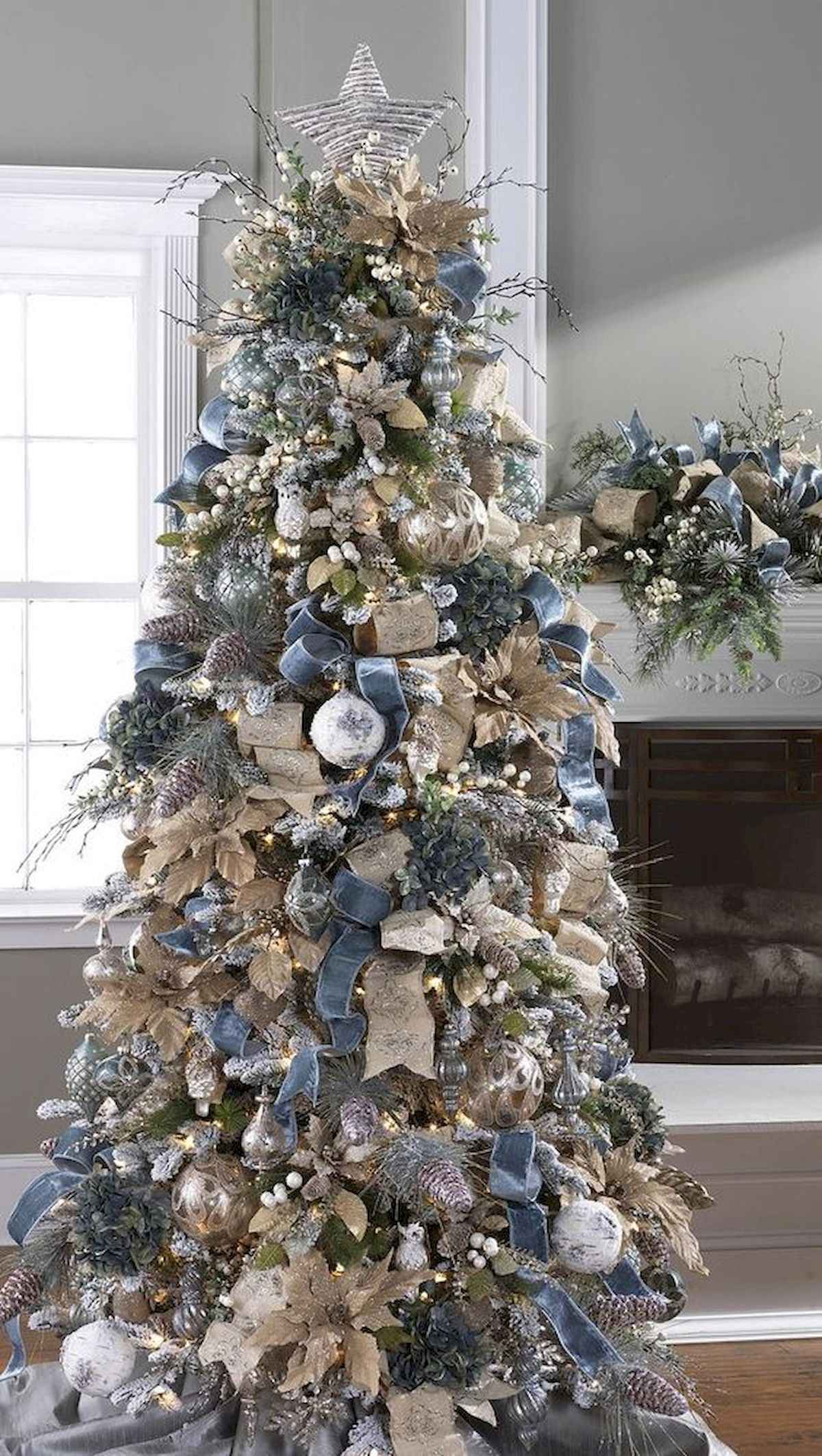 60 awesome christmas tree decorations ideas (19)