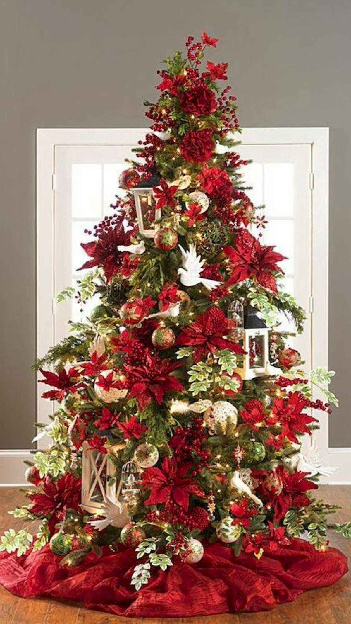 60 awesome christmas tree decorations ideas (2)