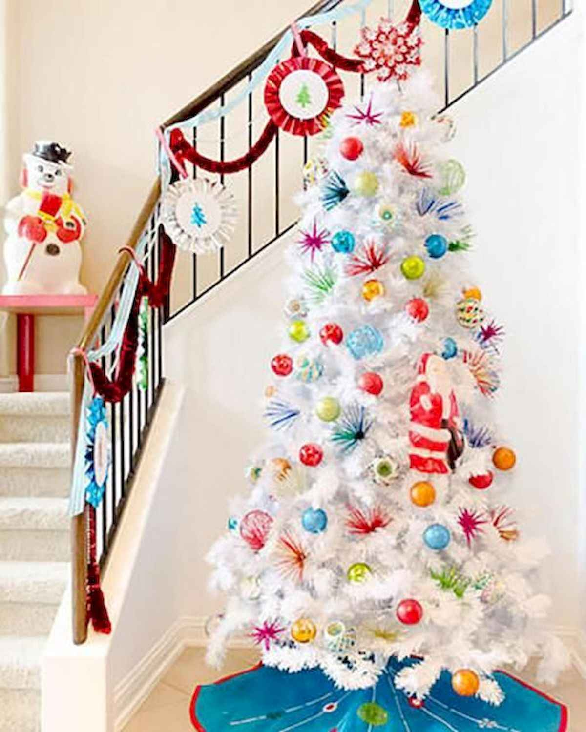 60 awesome christmas tree decorations ideas (31)