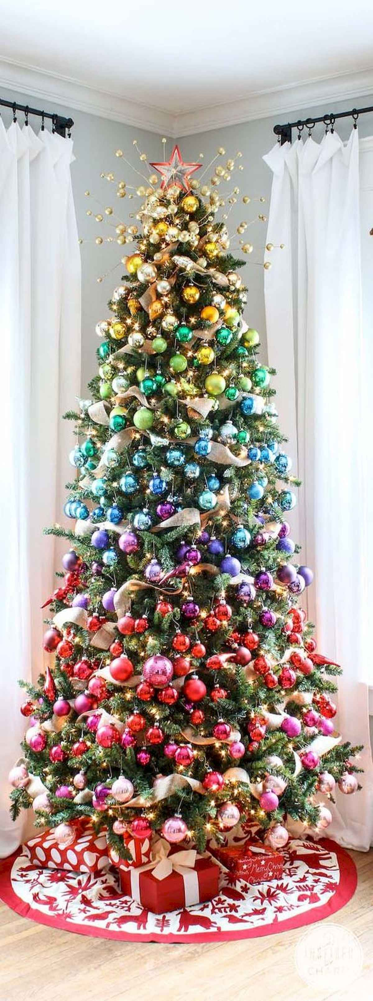 60 awesome christmas tree decorations ideas (52)