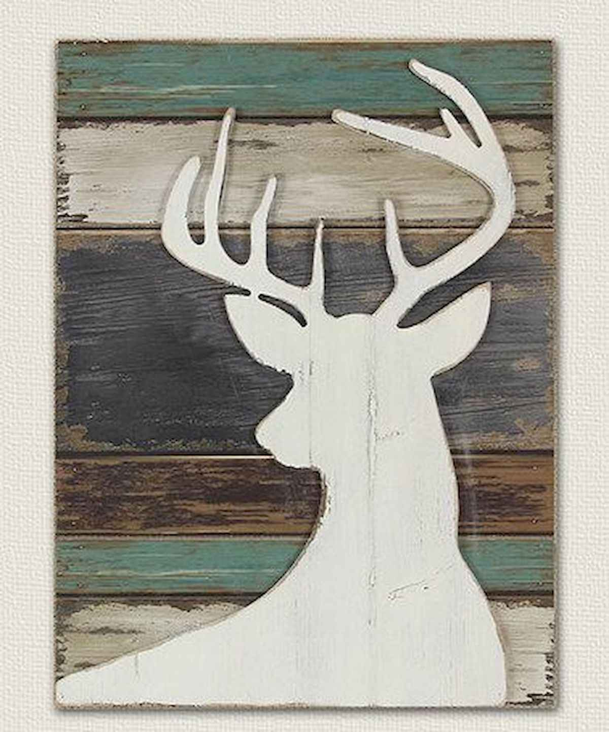 60 awesome wall art christmas ideas decorations (24)