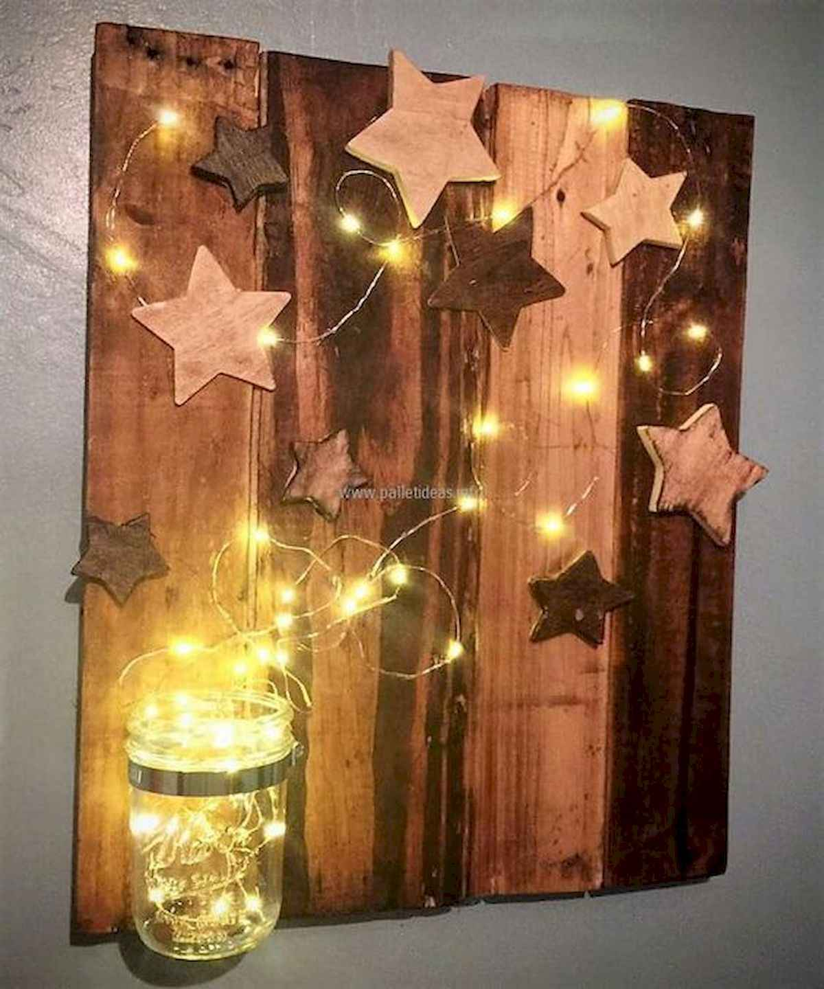 60 awesome wall art christmas ideas decorations (33)
