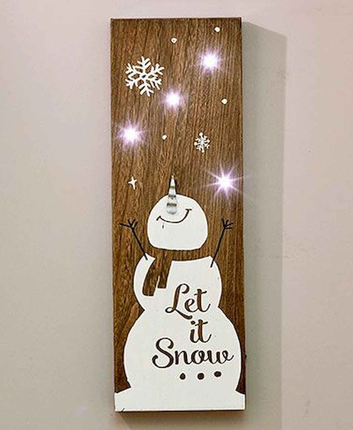 60 awesome wall art christmas ideas decorations (34)