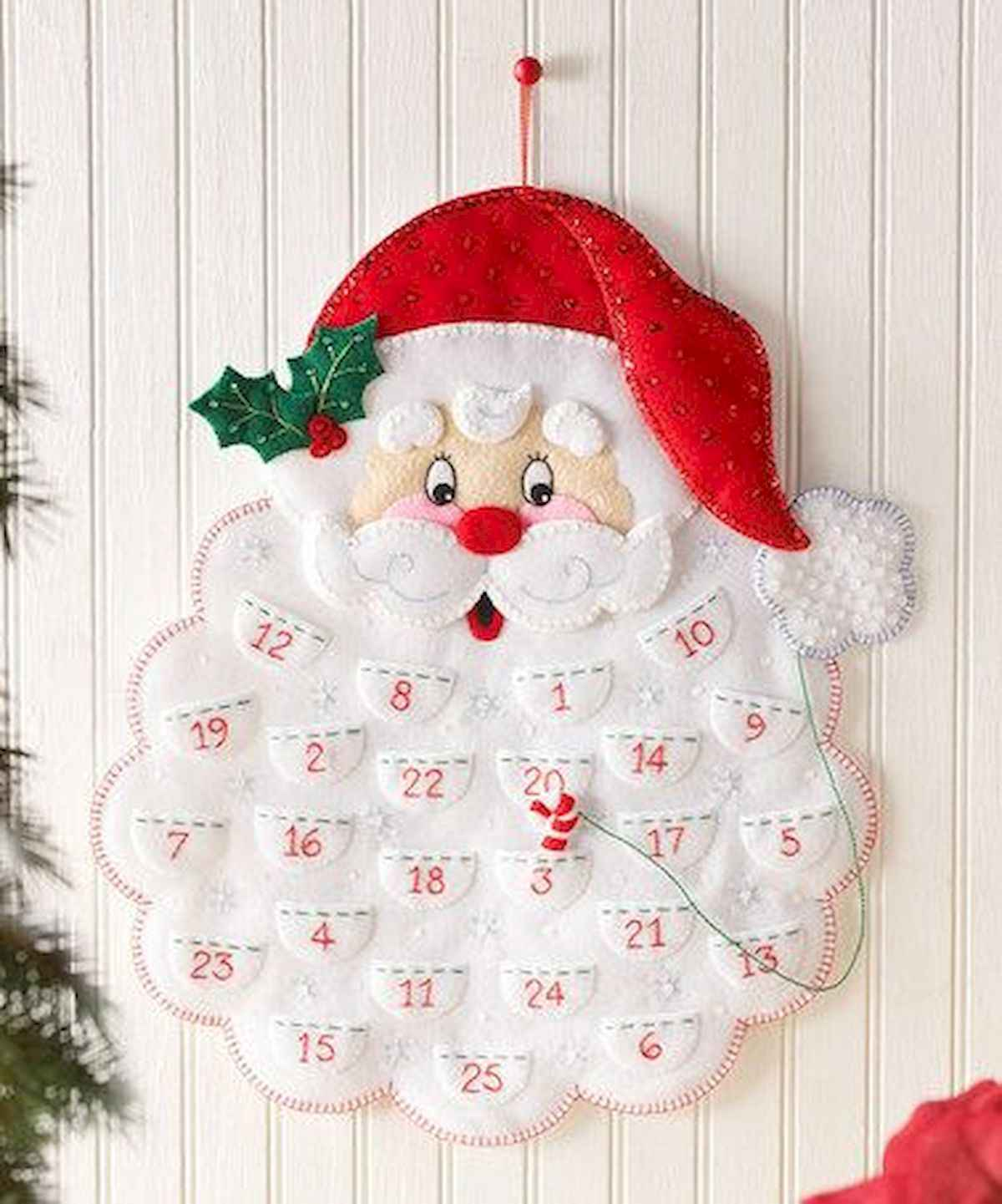 60 awesome wall art christmas ideas decorations (5)