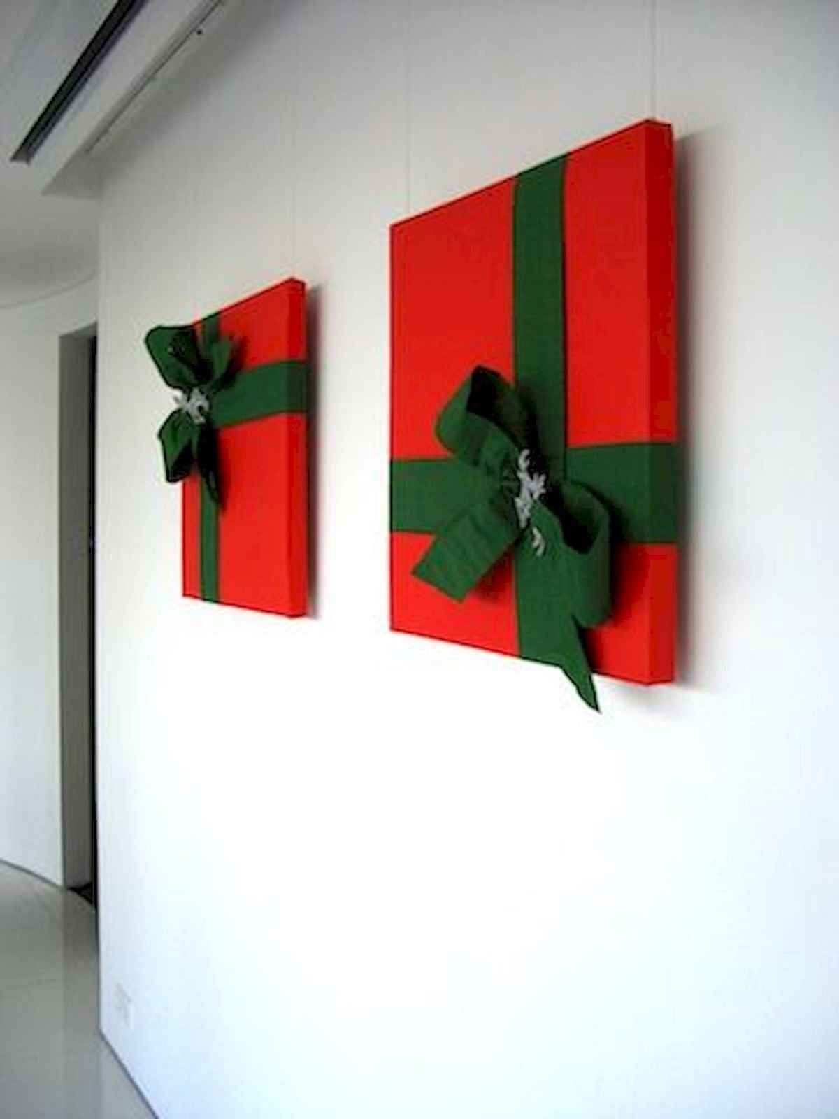 60 awesome wall art christmas ideas decorations (54)