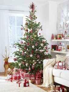 60 simple living room christmas decorations ideas (20)