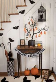 75 awesome helloween home decor ideas (1)