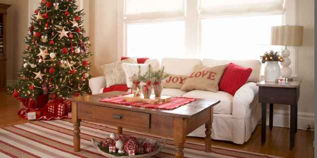 40 cheap and easy christmas decorations for your apartment ideas (62)