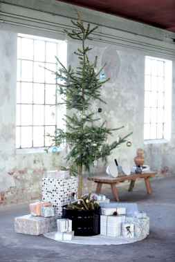 40 cheap and easy christmas decorations for your apartment ideas (73)