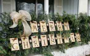 40 cheap and easy christmas decorations for your apartment ideas (74)