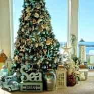 40 coastal christmas decor ideas and remodel (2)