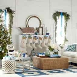 40 coastal christmas decor ideas and remodel (6)