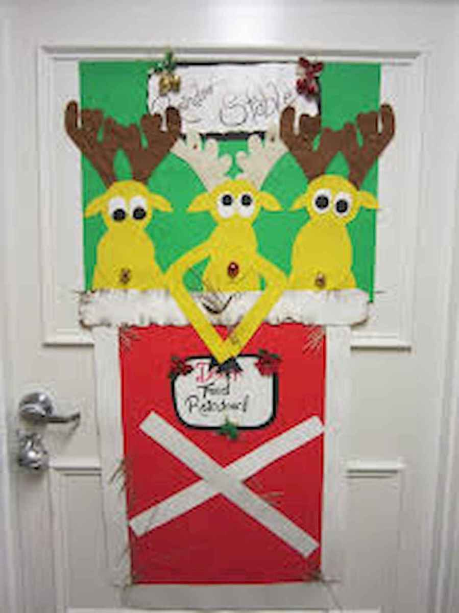 40 Easy Diy Christmas Door Decorations For Home And School