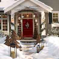50 christmas front porch decor ideas and remodel (10)