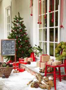 50 christmas front porch decor ideas and remodel (2)