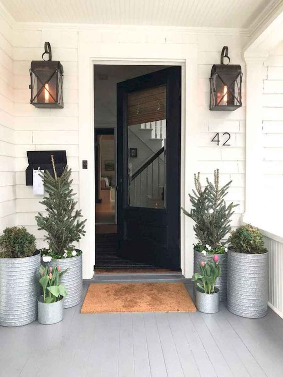 50 stunning christmas front porch decor ideas and design (7)