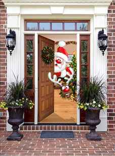 50 stunning christmas front porch decor ideas and design (9)