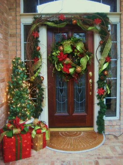 50 stunning outdoor christmas decor ideas and makeover (1)