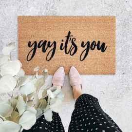 20 funny rug door mats design ideas (15)