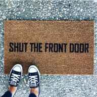 20 funny rug door mats design ideas (6)