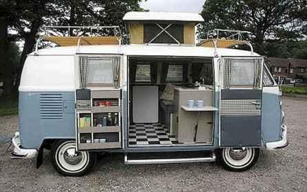 30 creative vw bus interior design ideas (8)