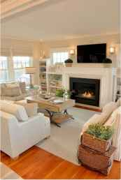30 elegant farmhouse living room decor ideas (13)