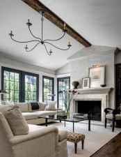 30 elegant farmhouse living room decor ideas (24)