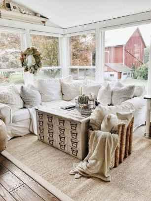 30 elegant farmhouse living room decor ideas (5)