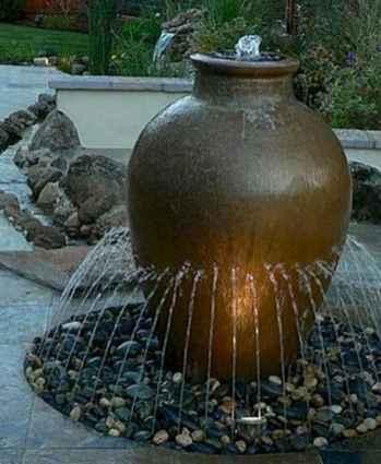 30 fantastic garden waterfall for small garden ideas (11)