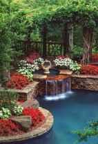 30 fantastic garden waterfall for small garden ideas (13)