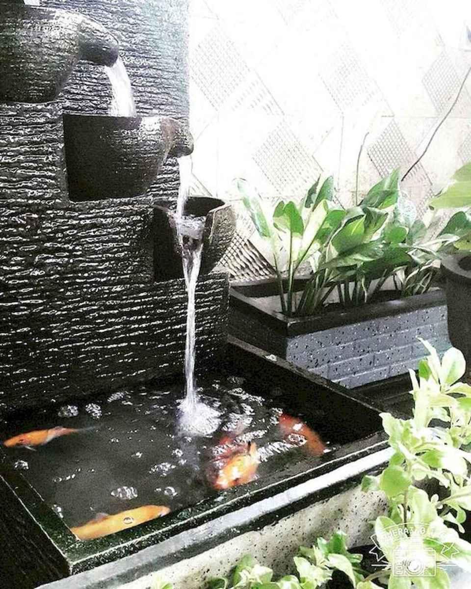 30 fantastic garden waterfall for small garden ideas (15)